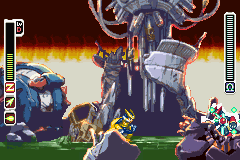 Megaman Zero 3 - Battle  - Final Boss Omega Zero Final Form - User Screenshot